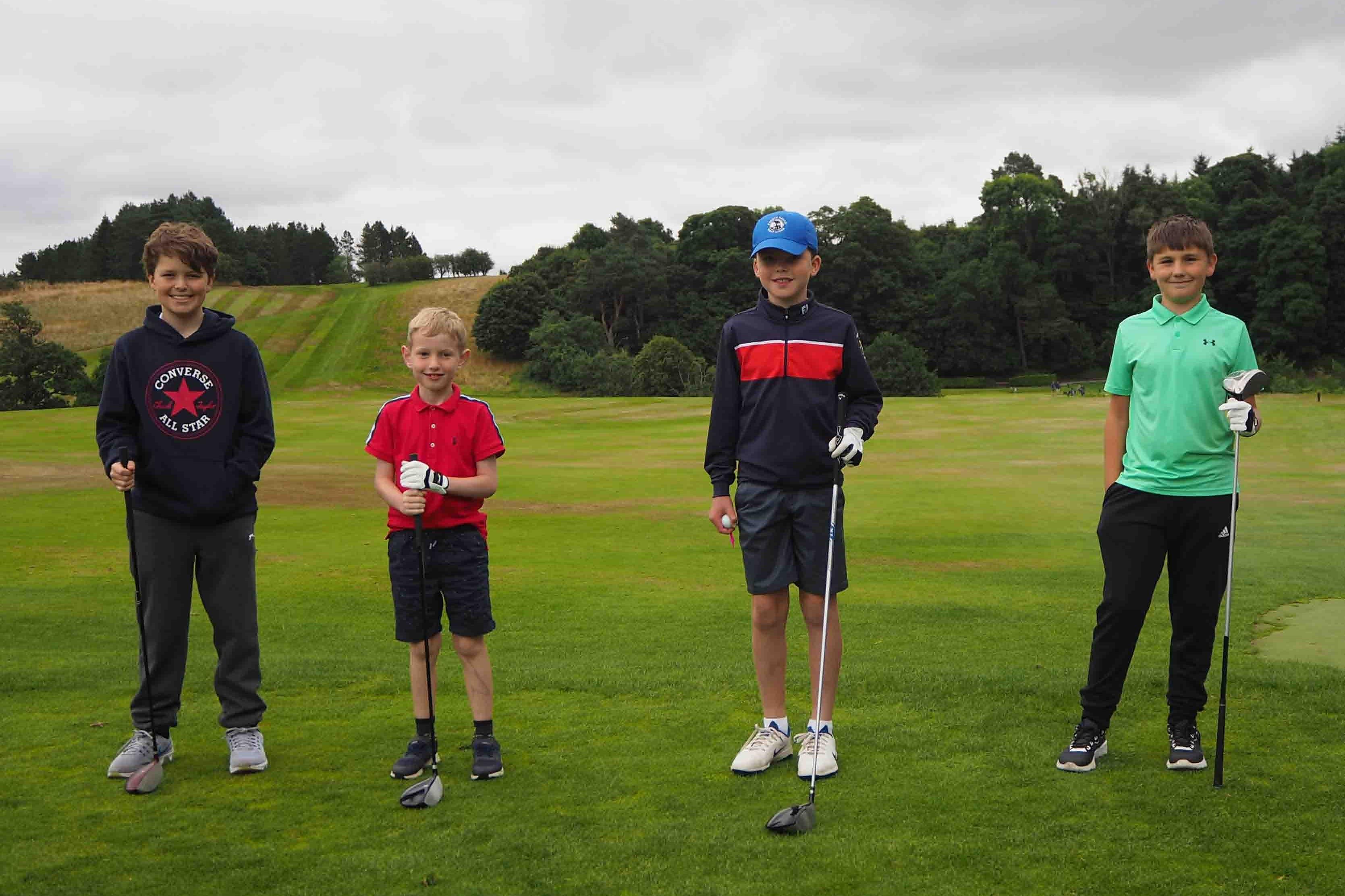 Max, Oscar, Rory & Lewis M