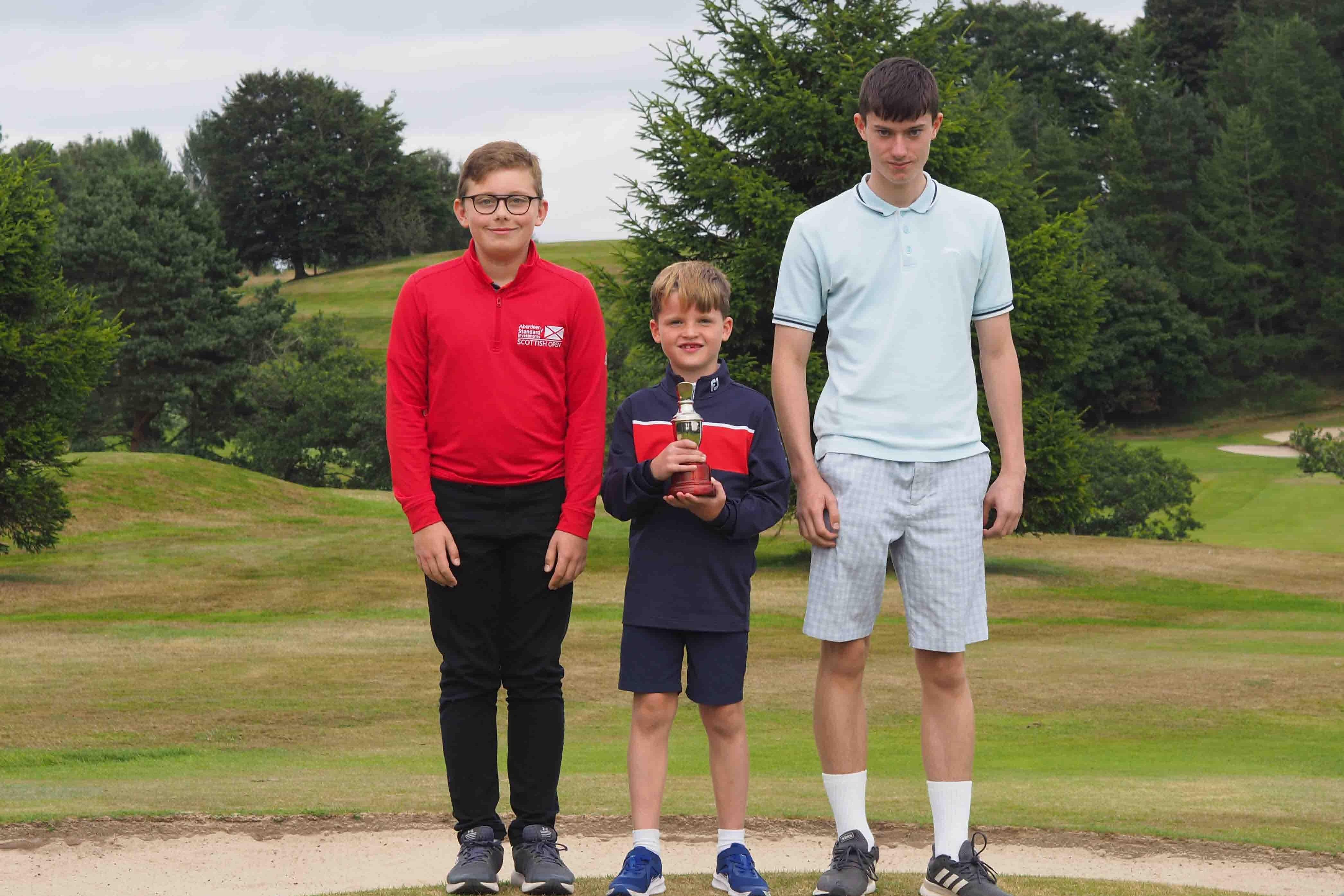 Challenge Trophy - Lewis Clark, Murray Laird & Logan Hayes