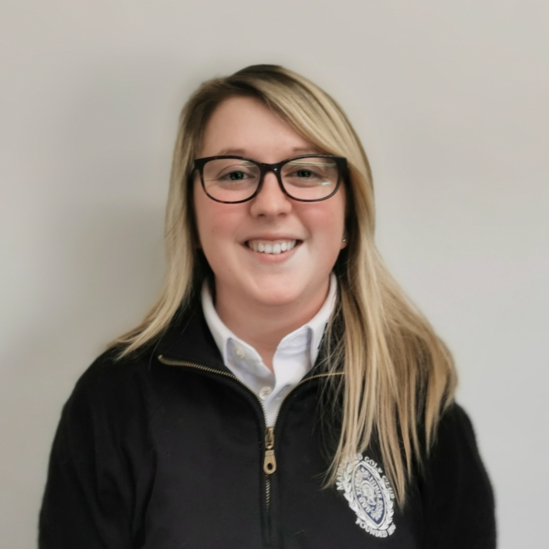 Amy Tindle-Rae - Golf Operations Manager