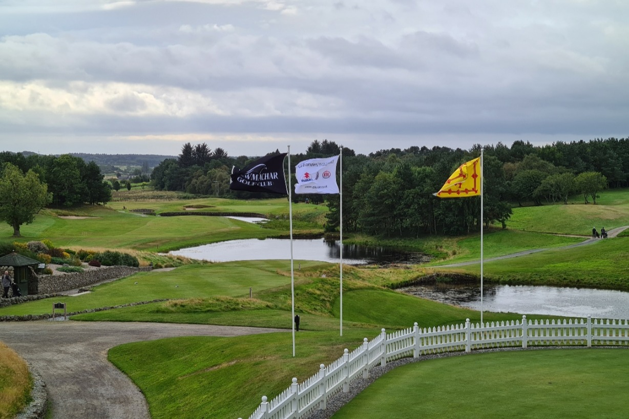 View to the 1st Tee