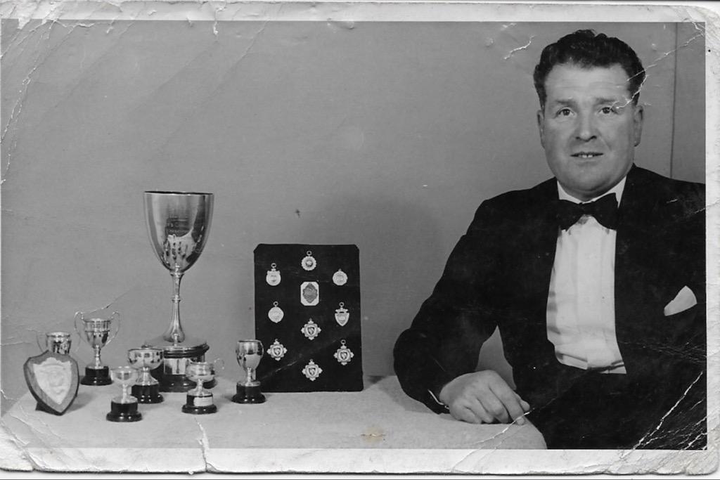L A Marsh - Captain 1956