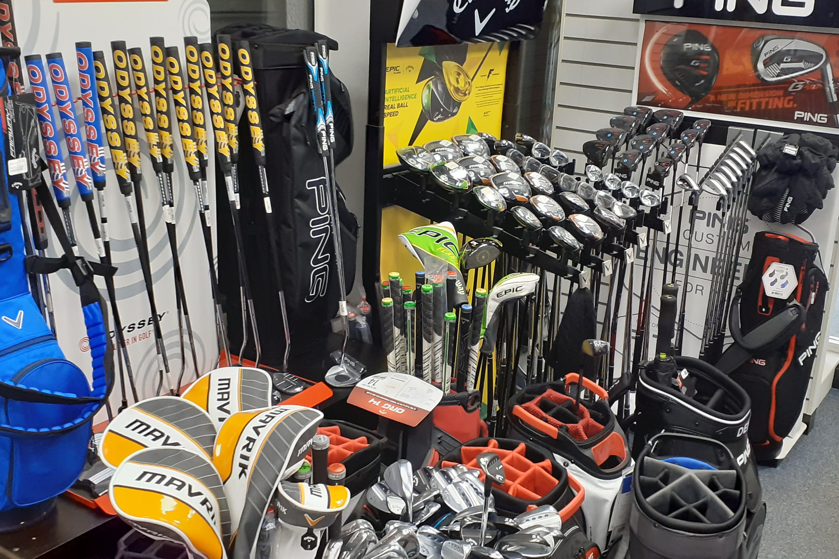 Fully Stocked Pro-Shop