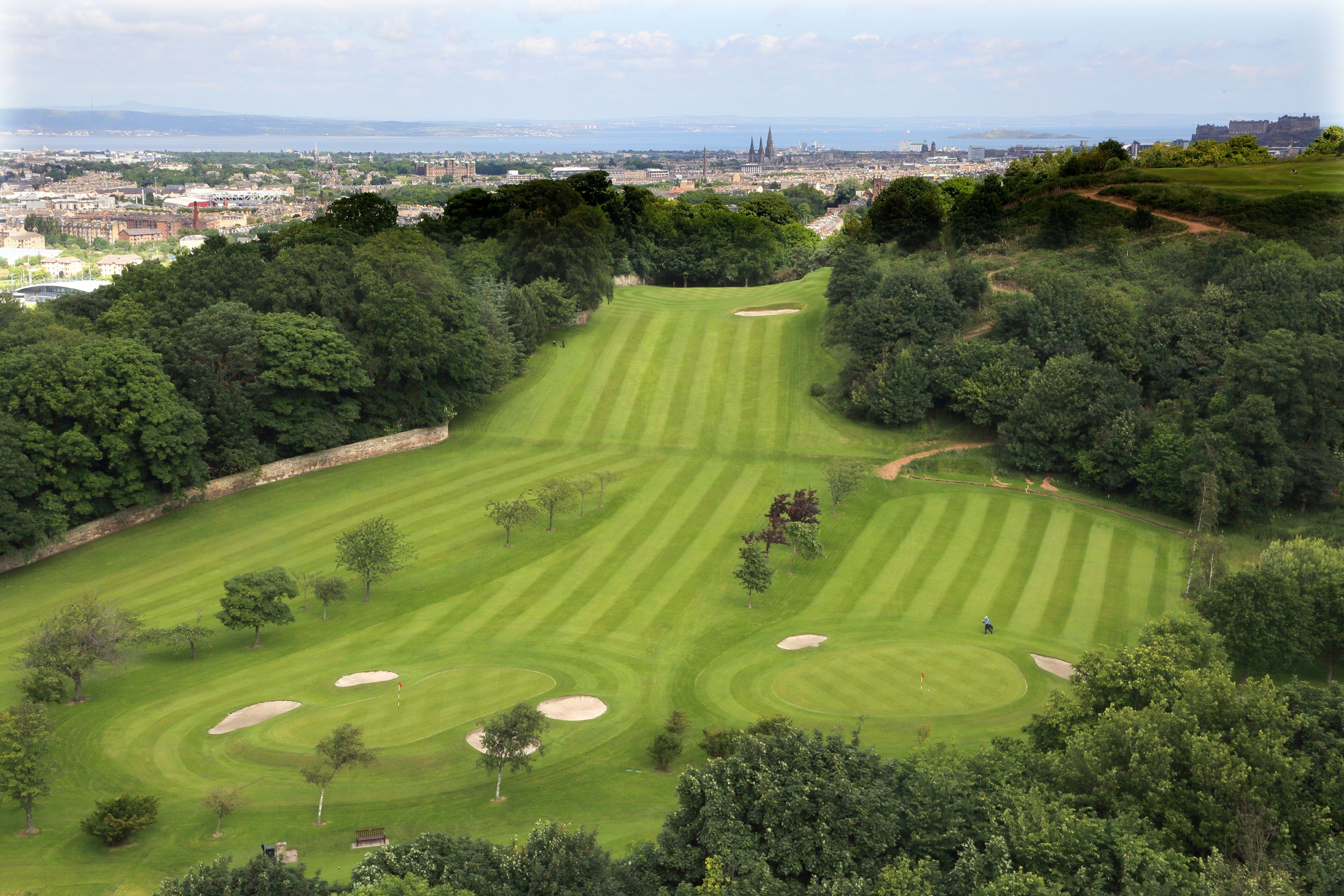Aerial views of the 13th, 14th & 15th holes
