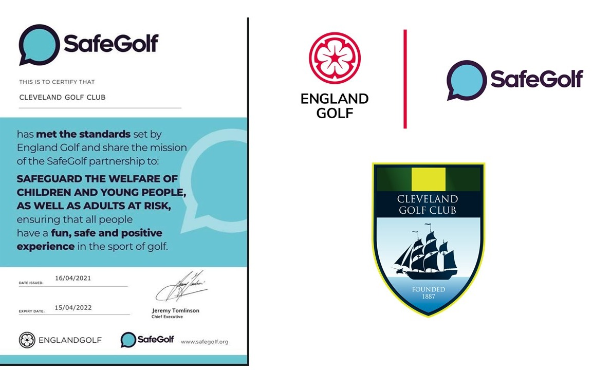 Safe Golf - accreditation