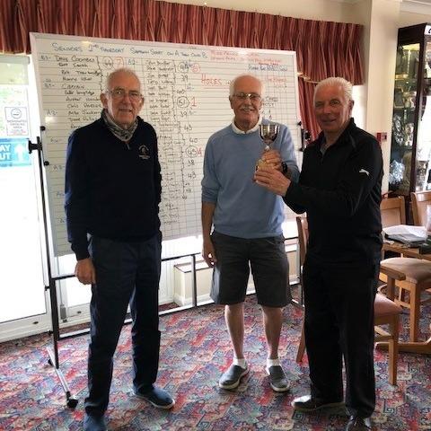 Mike Prince Memorial Trophy 2021- Keith Baker & Les Hughes
