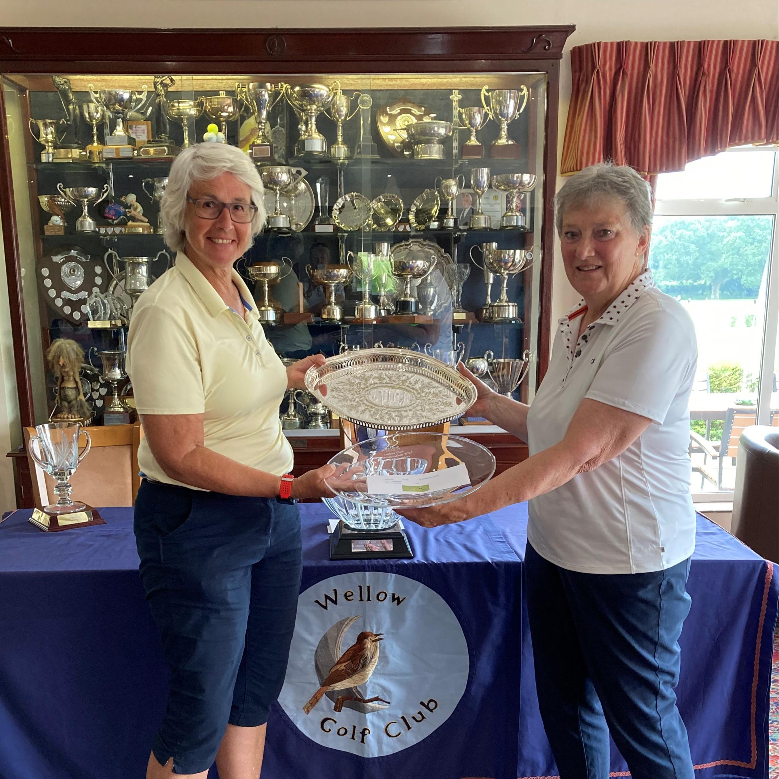 Club Nett Champion 2021 - Helen Parker
