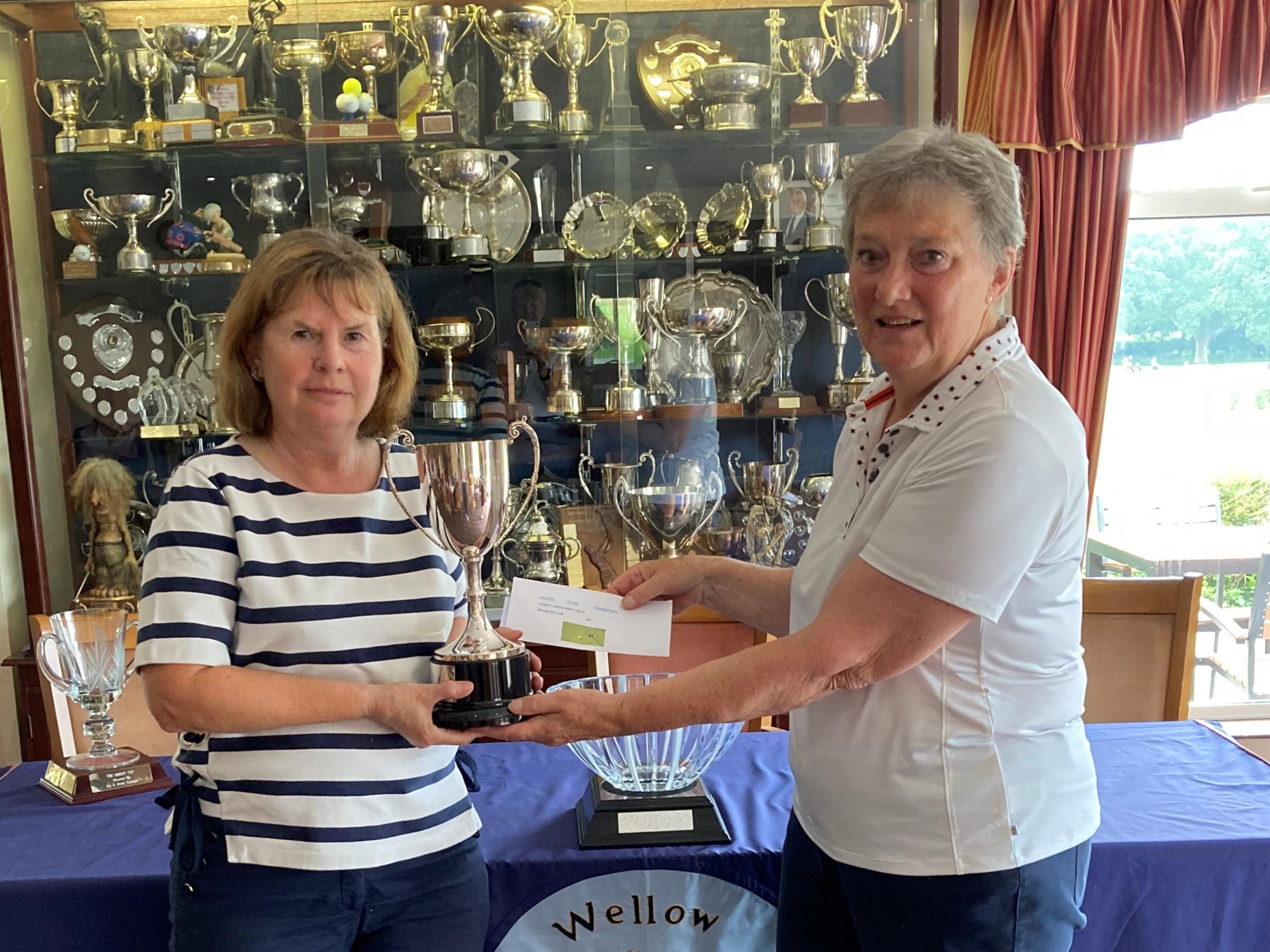 Club Champion 2021 - Kim Homles