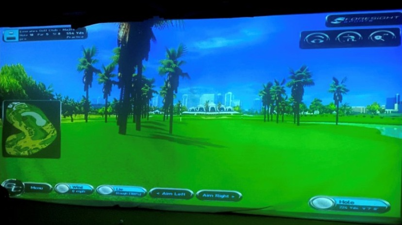 Simulator Play (choice of 80 courses)