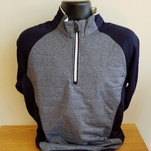Men's Grey/Blue Pullover -£80.00