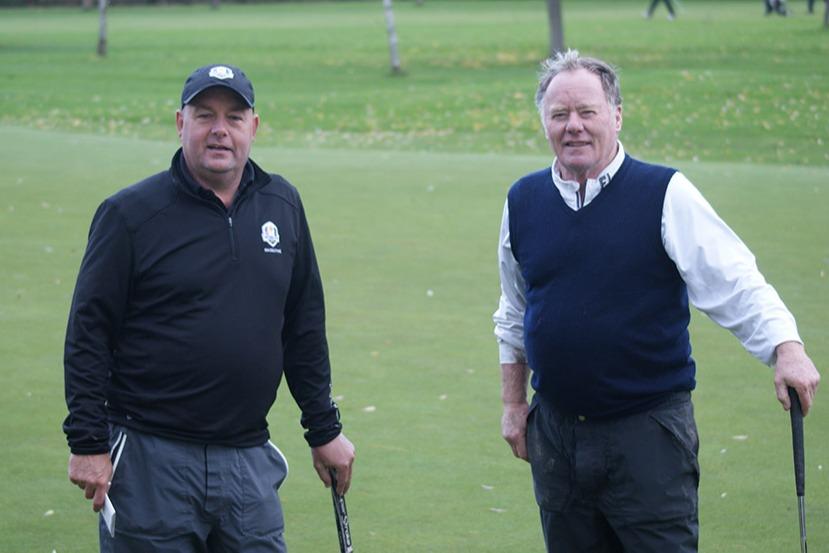 Dave Smith (Swinton Park) & Jimmy O'Reilly (Ellesmere)