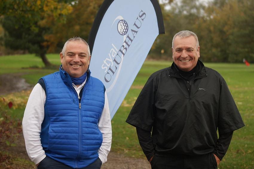 Am Am Runners Up Paul Crisp & Gordon Hamlett (Ashton upon Mersey GC)