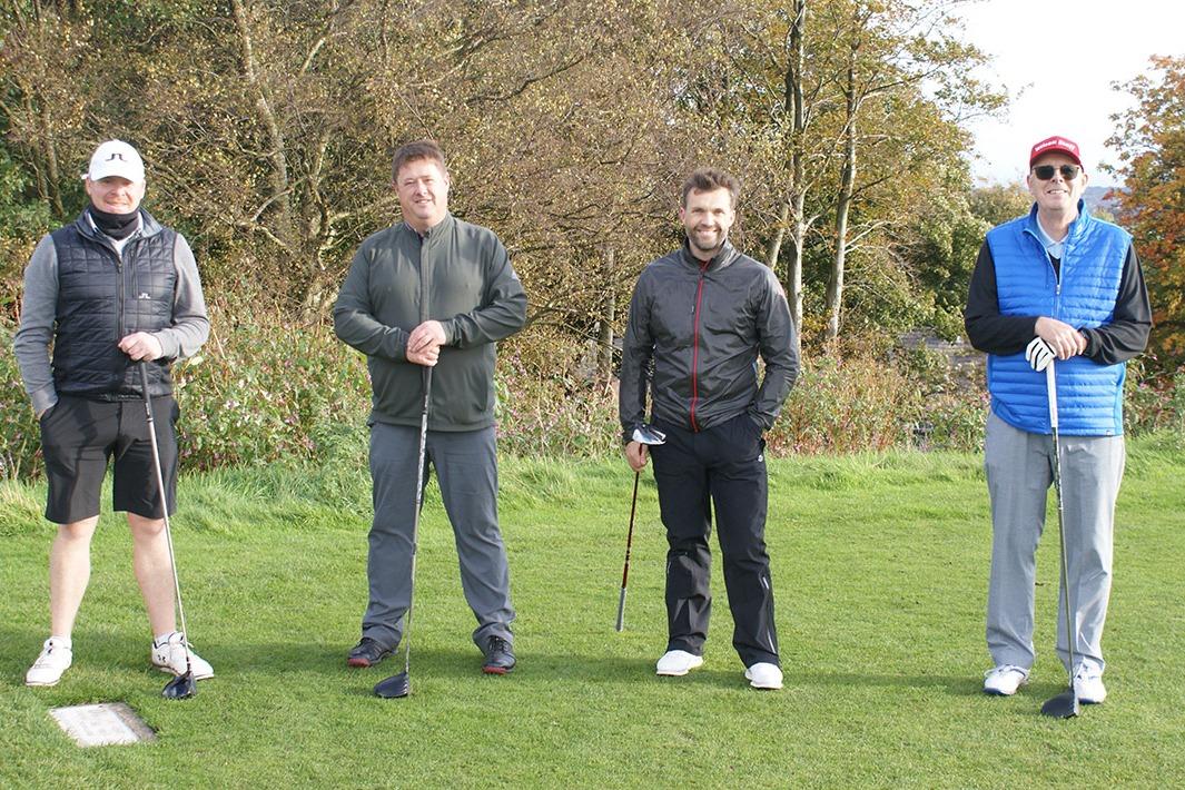 Steve Bryan, Matt Taylor (Capt. BOLGC), Sean Owen, Andrew Fletcher