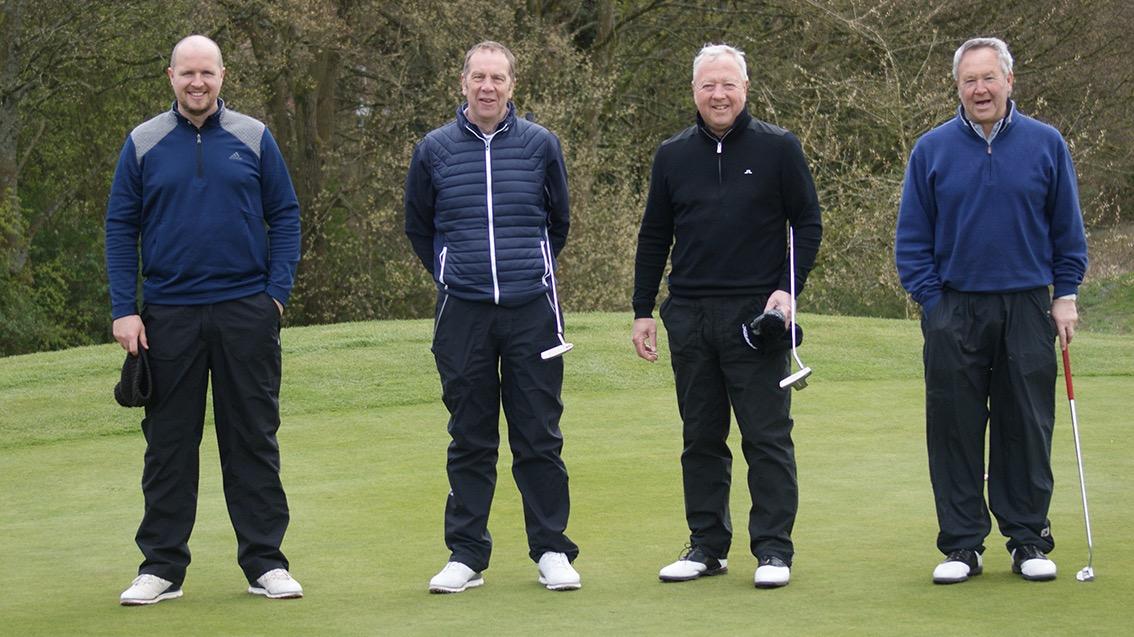 Sponsor & guests - Steve Hindle, Bob Bardsley (Sponsor), Dave Screeton, Steve Hamer