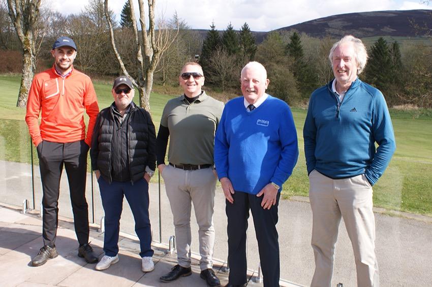 Sponsors team with MDGA President Ian Brooks