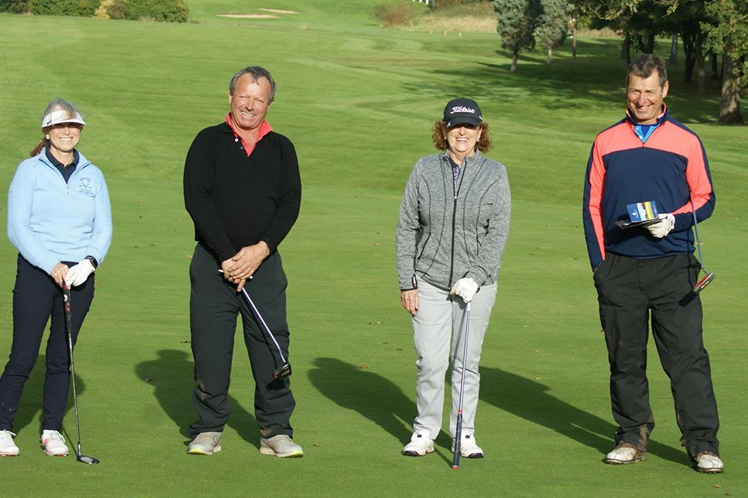 Gwen Wilson (Bolton OL), John Davies (Sponsor), Bridget Elmore (Sale GC), Ian Hales (Ringway GC)