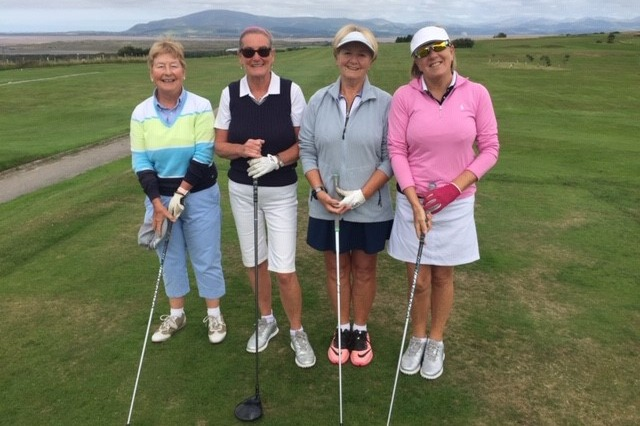 Winners: Anne, Rose, Brenda & Kath