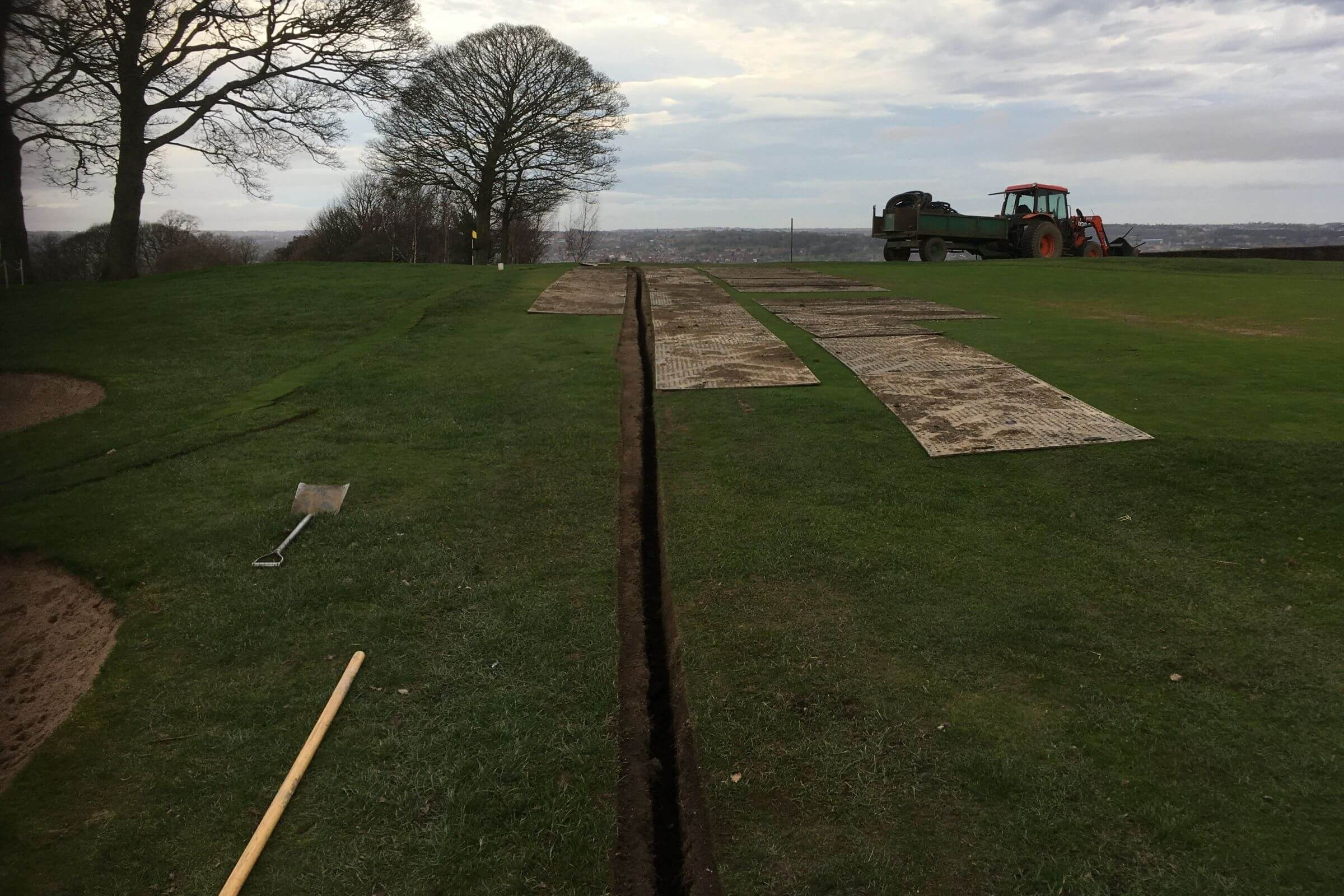 3rd Green Drainage