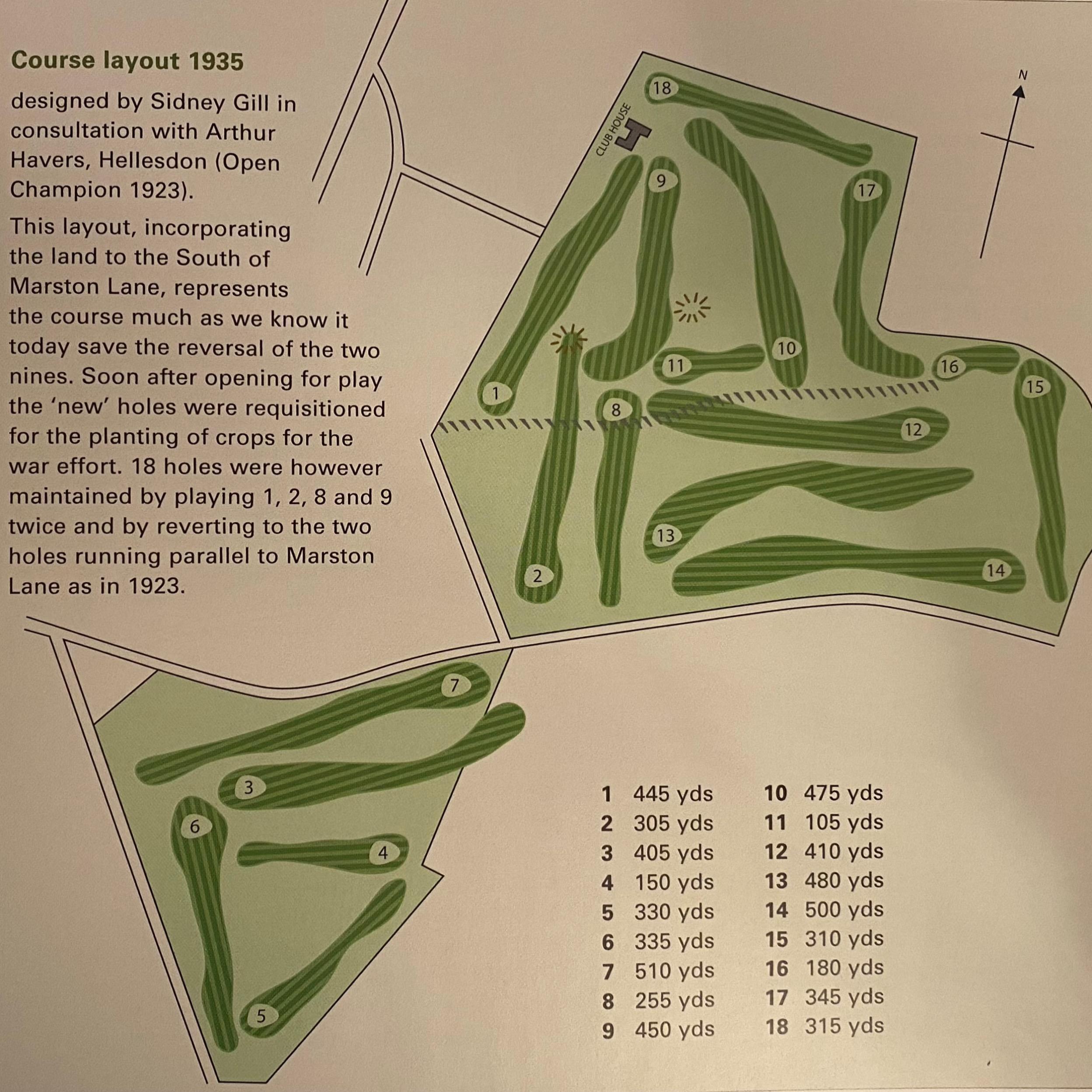 1935 Golf Course