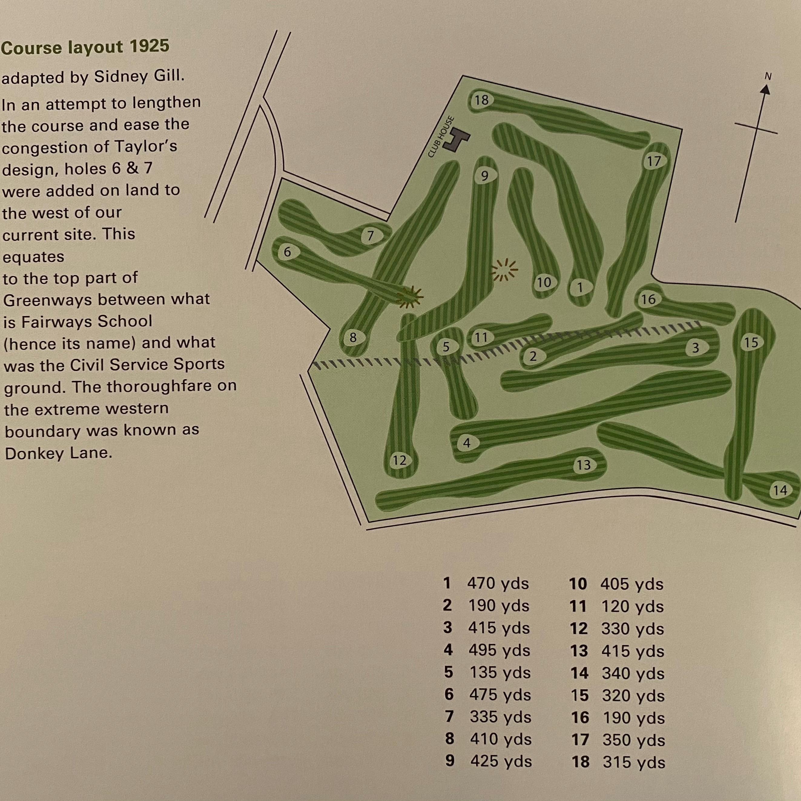 1925 Golf Course