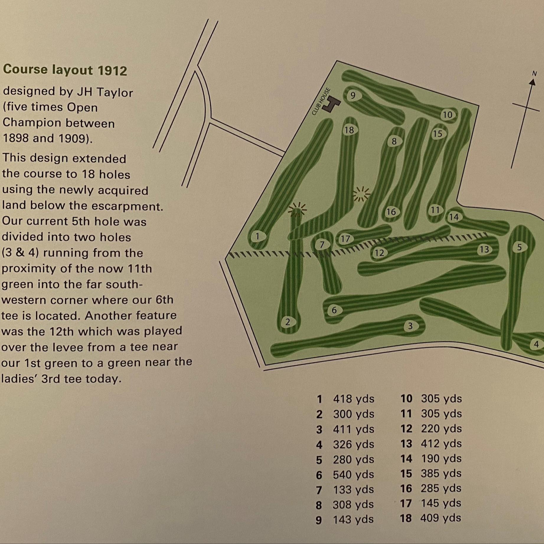 1912 Golf Course