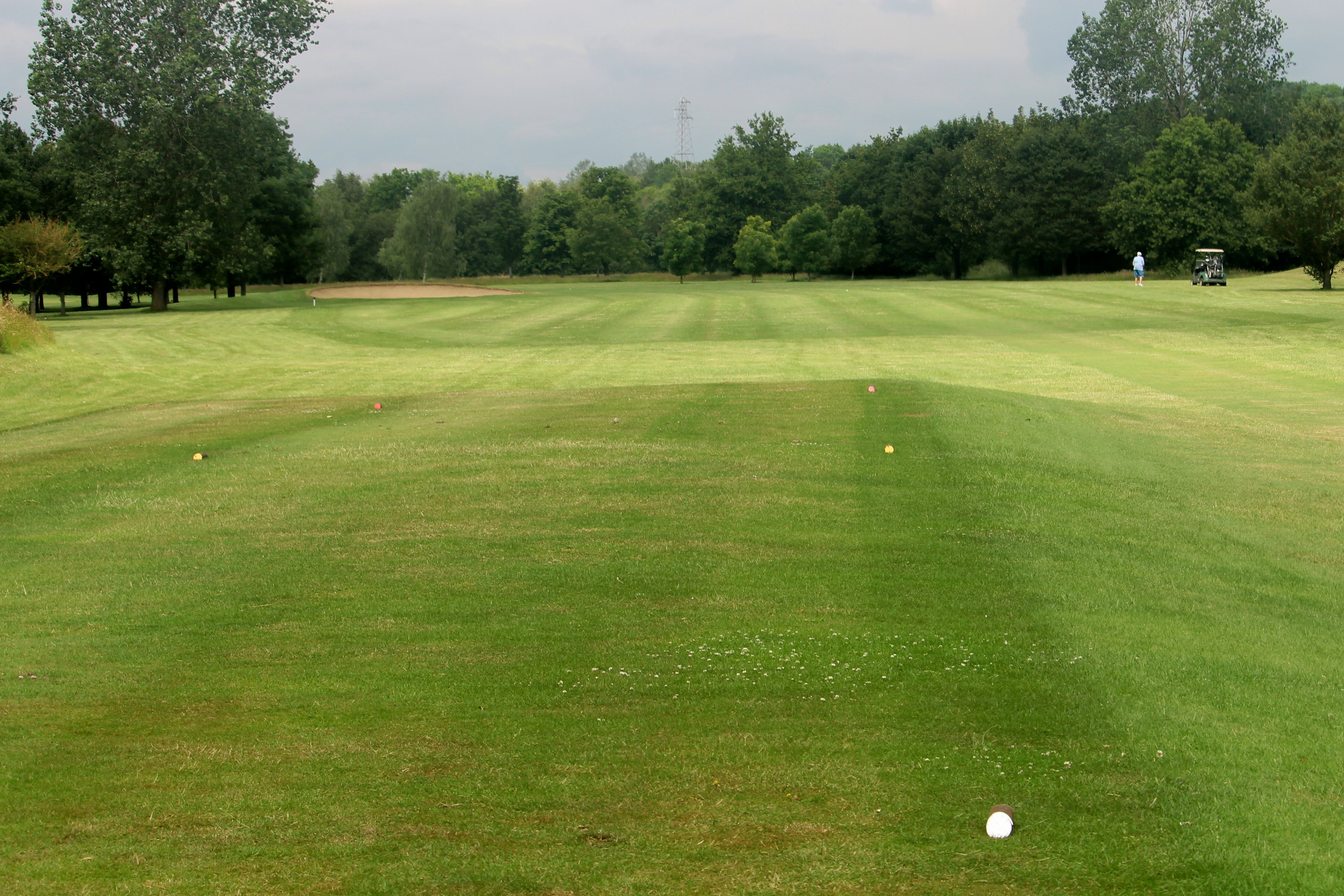 7th fairway from the tee