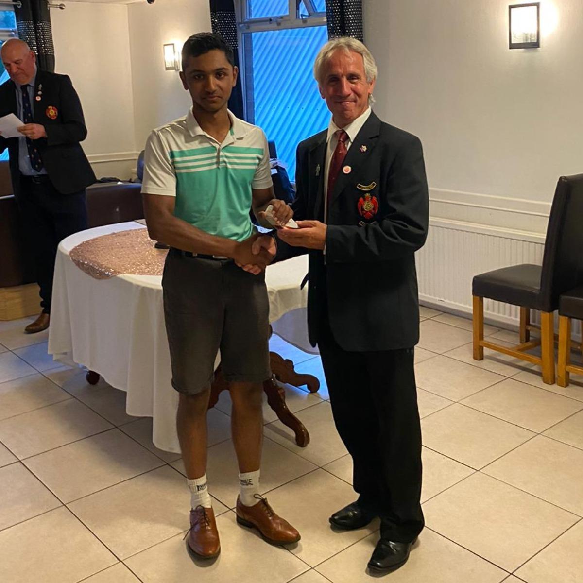 Shaun Thomas - 3rd place club championship