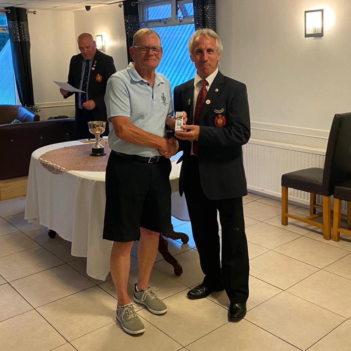 Nigel Danes - 3rd place Mowsbury Cup