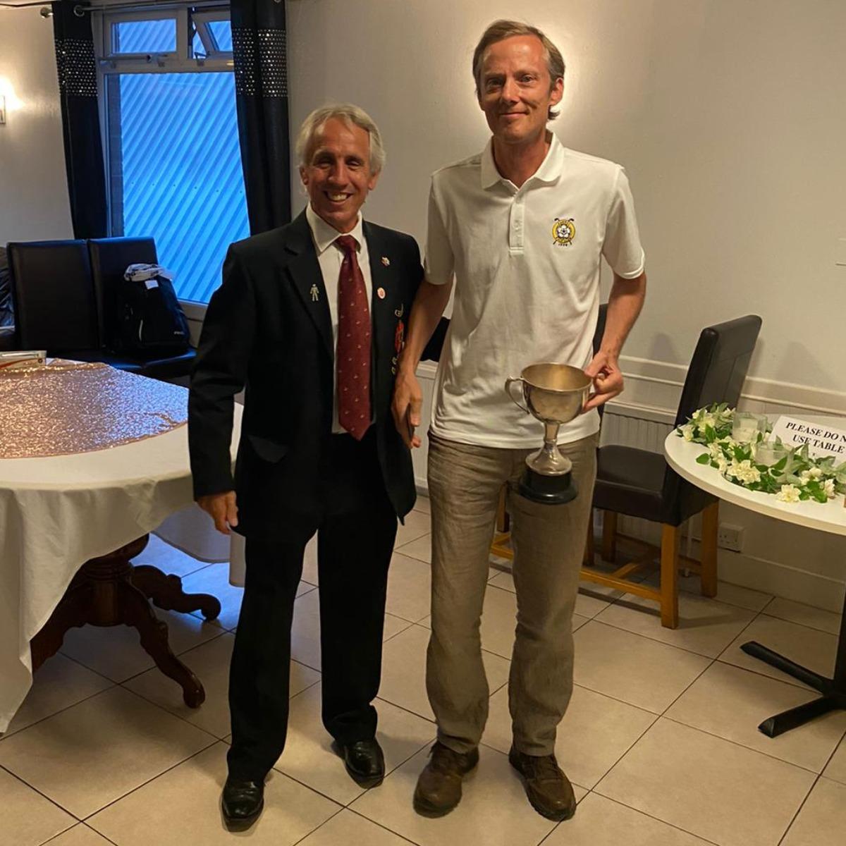 Mark Weatherill - Men's club champion 2021
