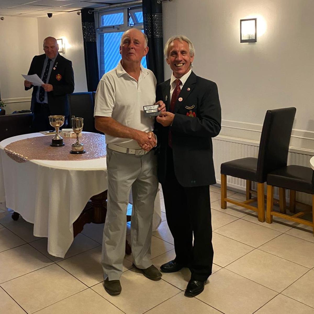 John Broughton - Runner-up Mowsbury Cup