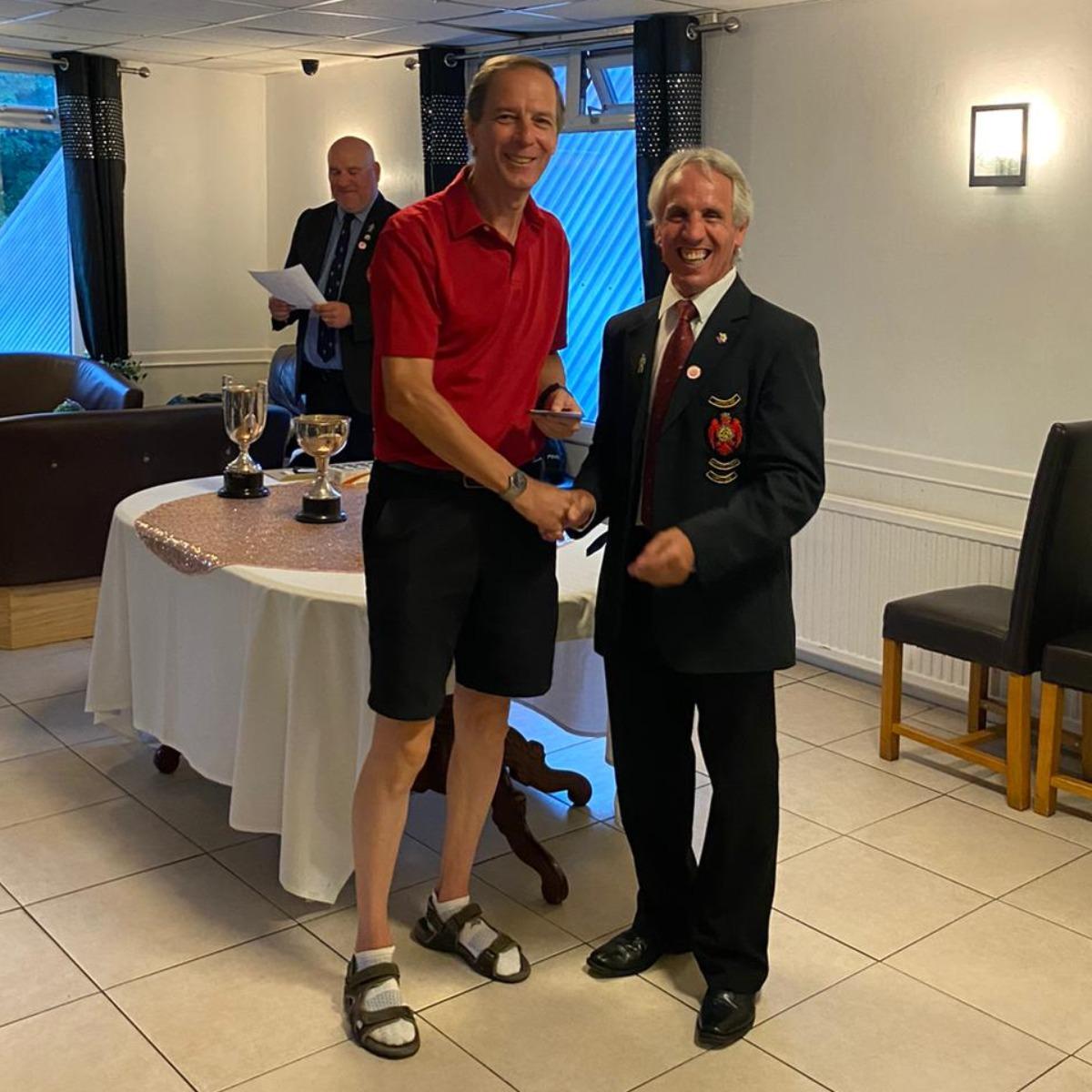 David Elvin - Runner-up Senior club championship