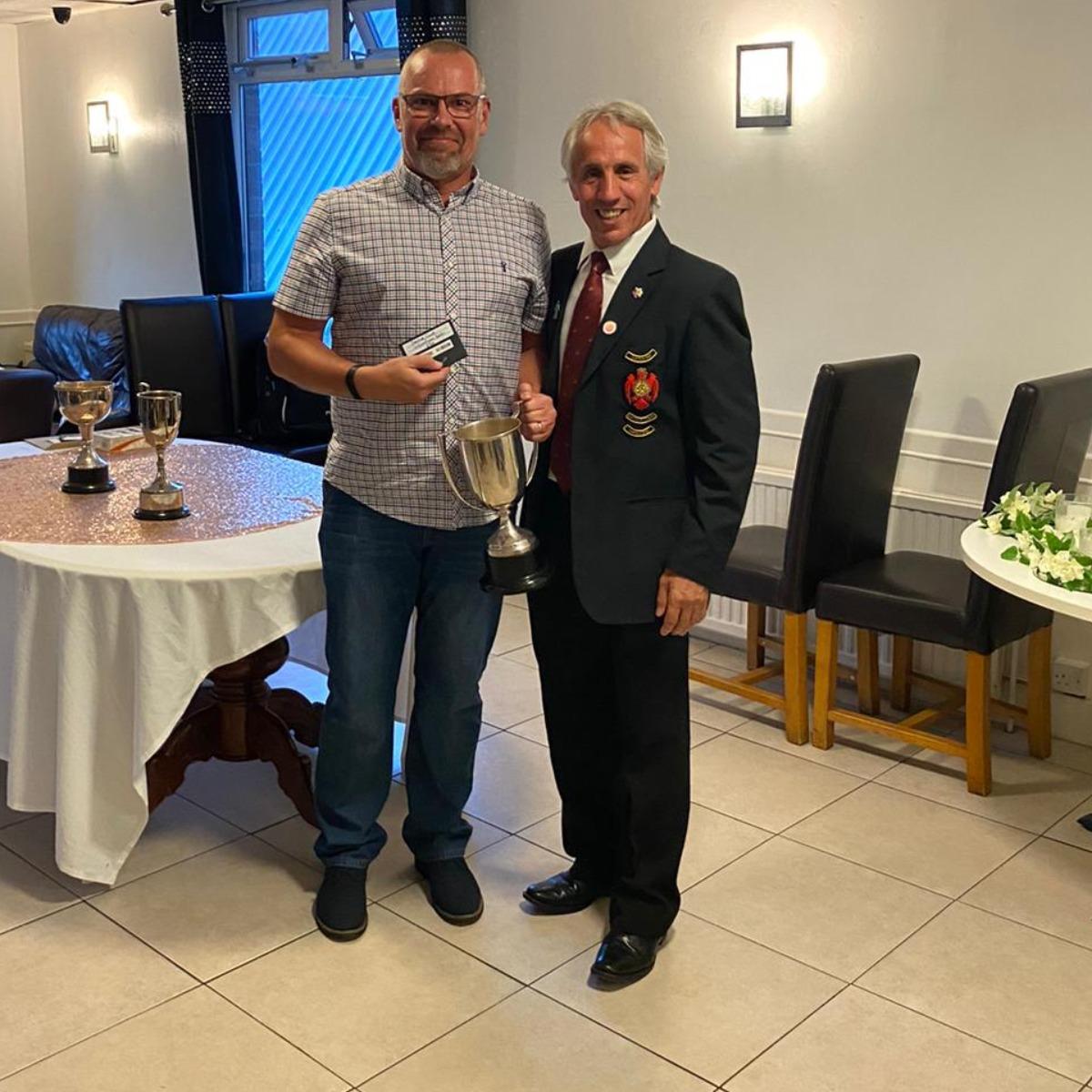 Paul Derbyshire - Senior club champion