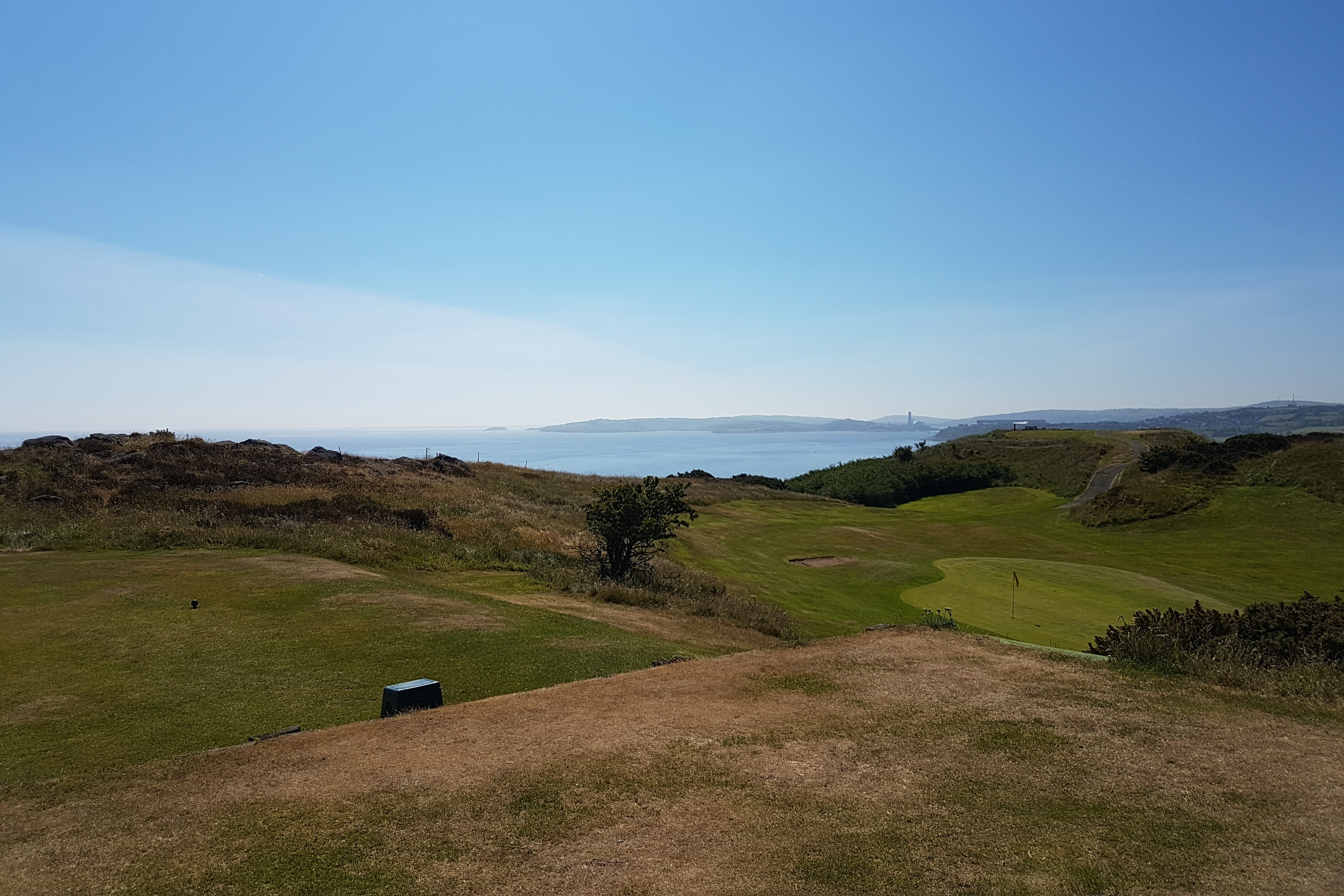 Looking from 3rd tee towards Larne