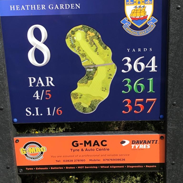 8th Tee - http://www.gmactyres.com/