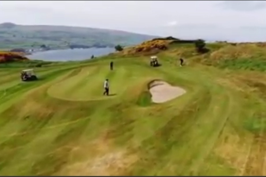 The 2nd green