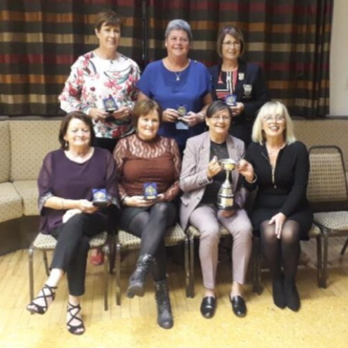 The ladies won the East Antrim League in 2019