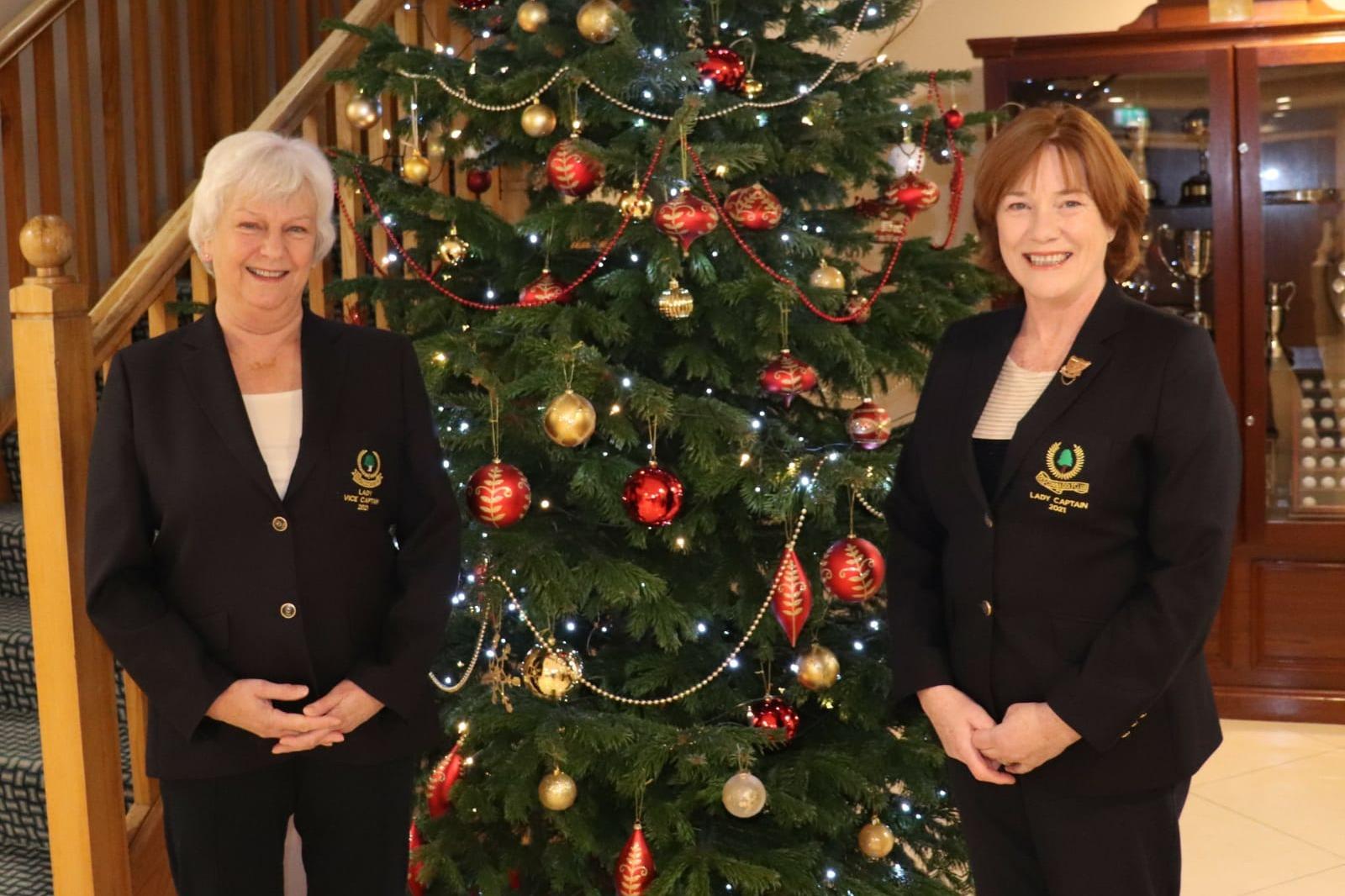 2021 Lady Vice Captain Leonie Walsh & Lady Captain Laura O'Kiersey