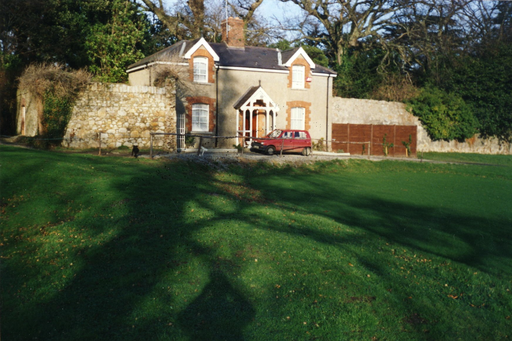 The Cottage - lived in for a number of years after the Club opened in 1987